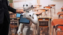 Pepper the robot is opening up to Android