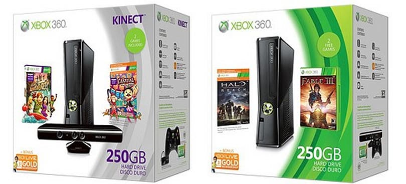 Microsoft lines up two Xbox 360 bundles for the holidays