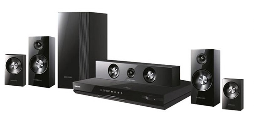 Samsung goes cubic with HT-D7100 Blu-ray home theater system, HW-D550 soundbar