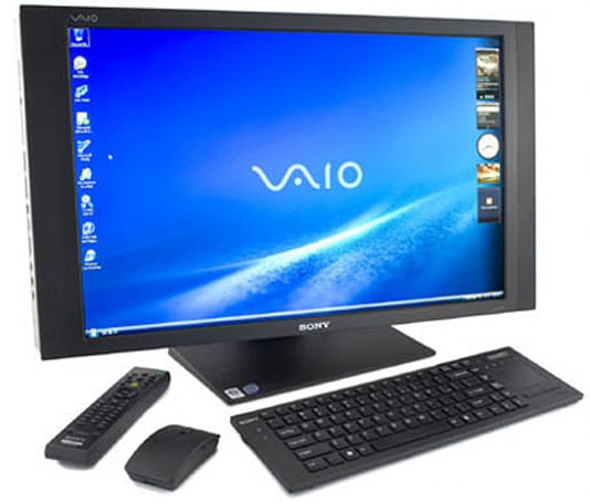 Sony's 25.5-inch VAIO VGC-RT150Y all-in-one reviewed: pricey, but good