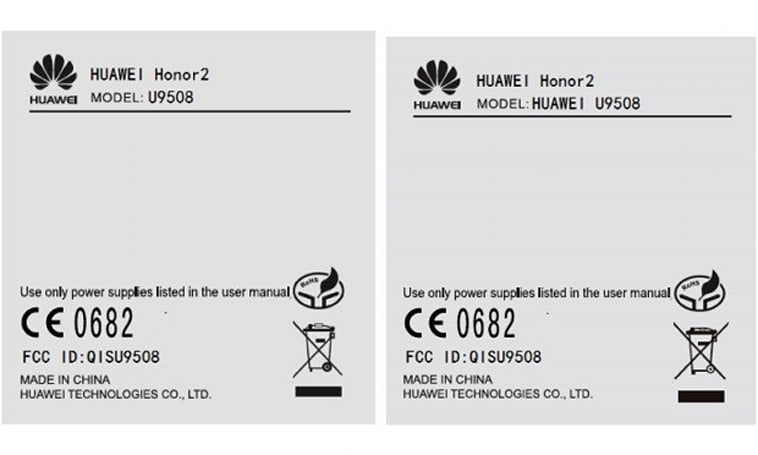 Huawei Honor 2 passes through the FCC with North America-capable 3G, not much else