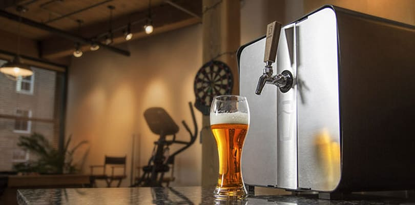 SYNEK's countertop draft system brings fresh beer home this summer