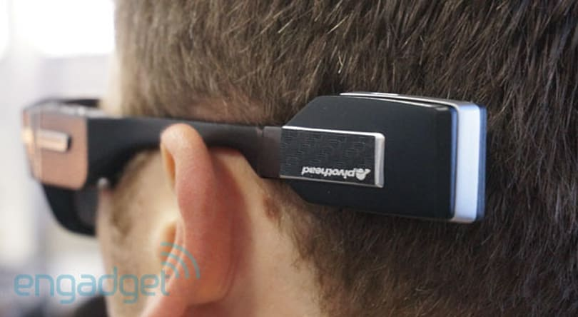 Pivothead's new video capture glasses let you mix and match power, storage and wireless add-ons