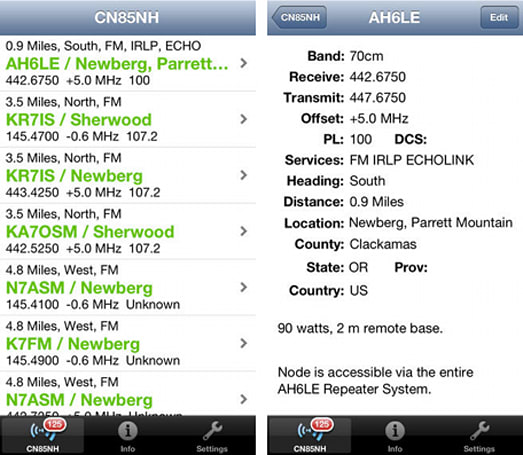 Daily App: RepeaterBook is a repeater guide for amateur radio enthusiasts