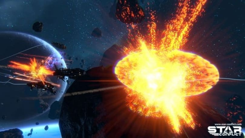 Star Conflict blasts into beta