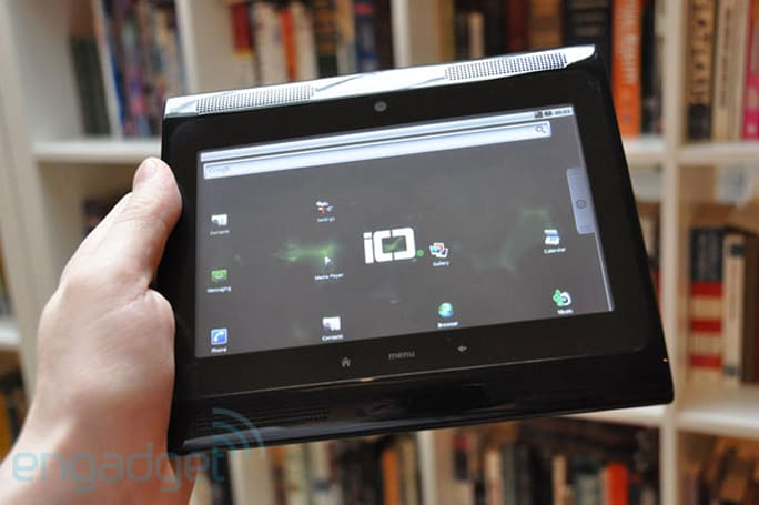 ICD Ultra Android tablet hands-on