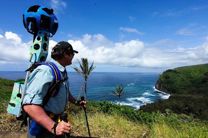 Google's Trekker program takes you on a tour across the US