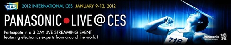 Panasonic Live @ CES 2012 (video)