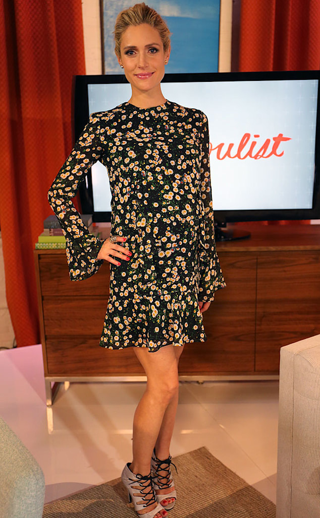 Kristin Cavallari isn't letting motherhood (or being pregnant) slow her down