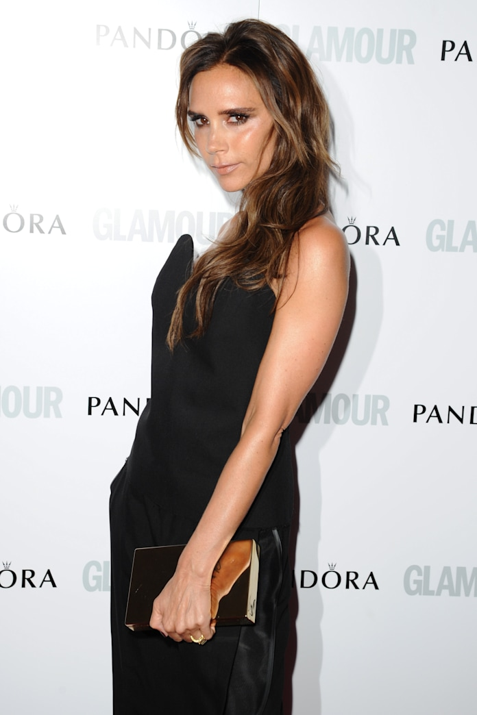 Victoria Beckham donates designer duds for typhoon victims