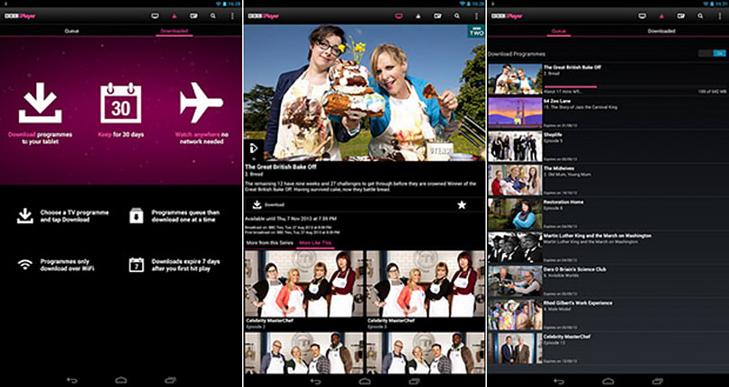 Three more Android devices now support BBC iPlayer app's offline viewing