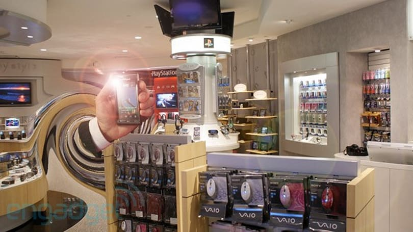 Magnificent wormhole to 2009 spontaneously opens in Sony Style store, expels Satio, closes