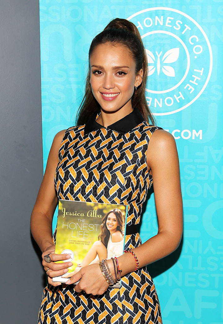 Enter to Win an Autographed Copy of The Honest Life by Jessica Alba