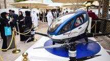 自動操縦の一人乗りドローン、ドバイで空飛ぶタクシーとして実用化へ。緊急時は4G遠隔操縦で着陸
