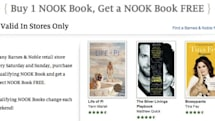 Barnes & Noble intros buy-one-get-one Nook book offer, only valid in stores