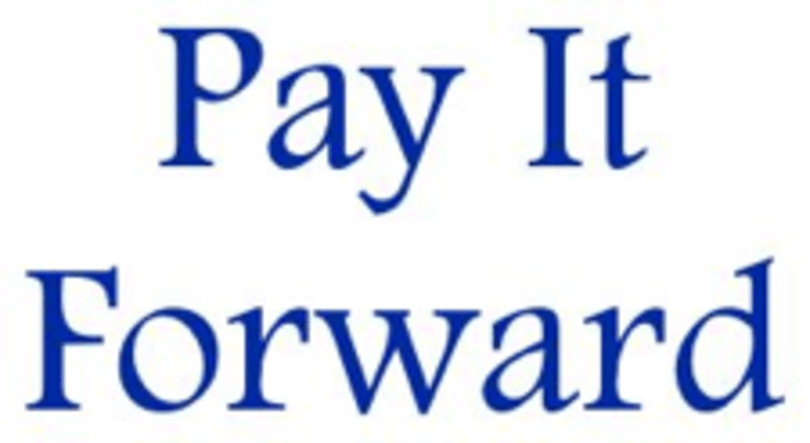 A holiday idea: pay it forward