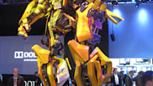 Bumblebee spotted on CES floor