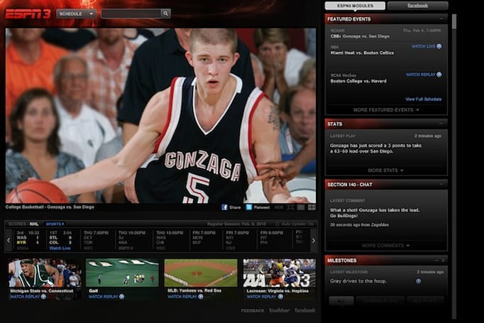 ESPN3 finally comes to Cablevision, WatchESPN 'coming soon' to Optimum TV to GO