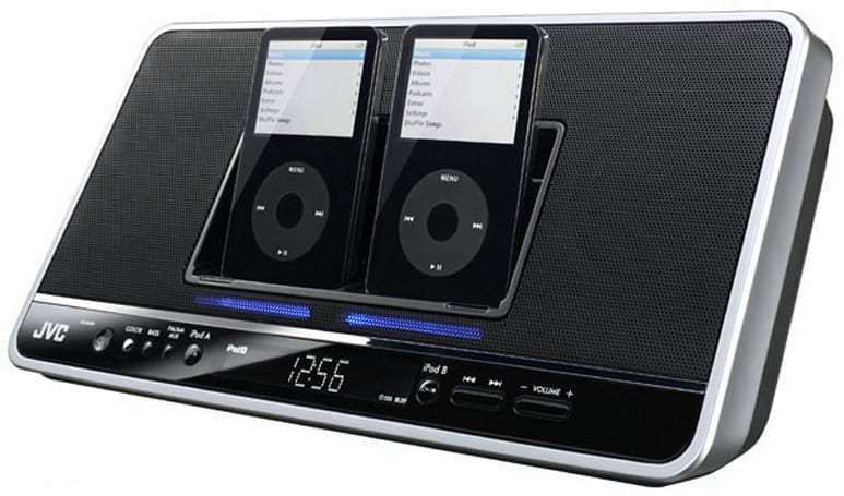 JVC rolls out NX-PN7 dual iPod docking station