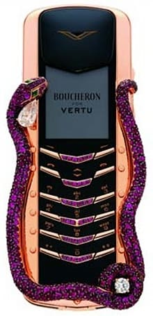 "Vertu's Signature Cobra claims ""world's ugliest phone"" throne"
