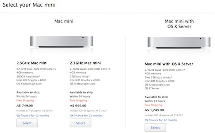 Mac mini prices climb in several countries