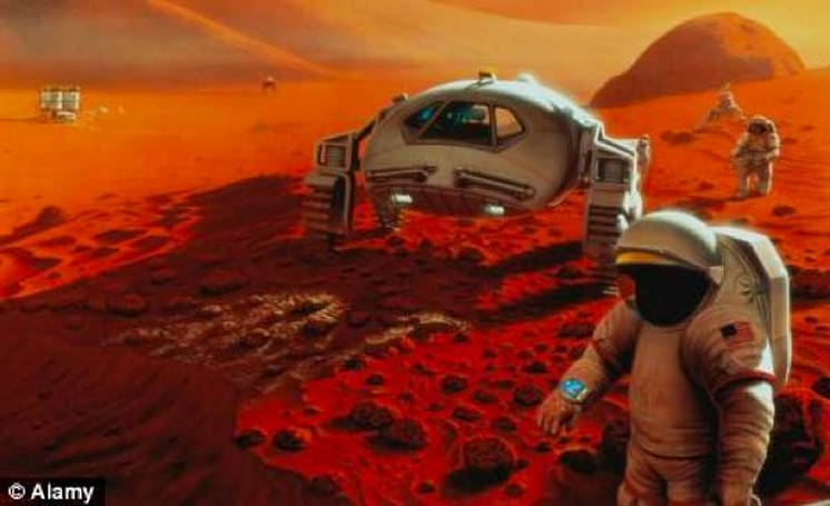 Hundred Year Starship Initiative plans to put people on Mars by 2030, bring them back by... well, never (video)