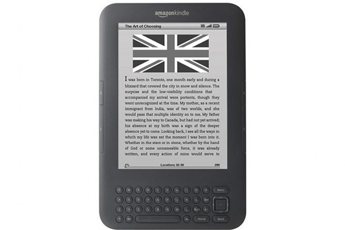 Amazon's Kindle Store opens digital doors in UK