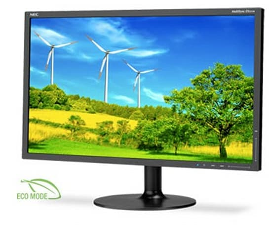 NEC introduces 23-inch MultiSync EX231W LCD monitor, complete with DisplayPort