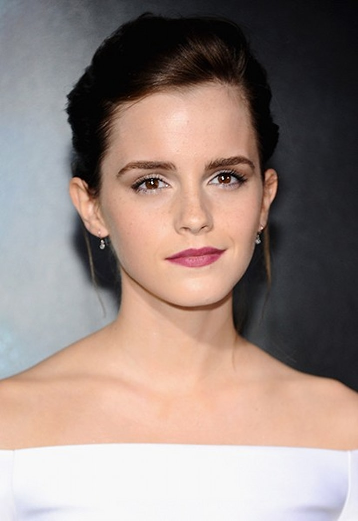 Emma Watson's pretty lip at 'Gravity' premiere