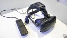 再探 Vive 無線模組與定位感應器