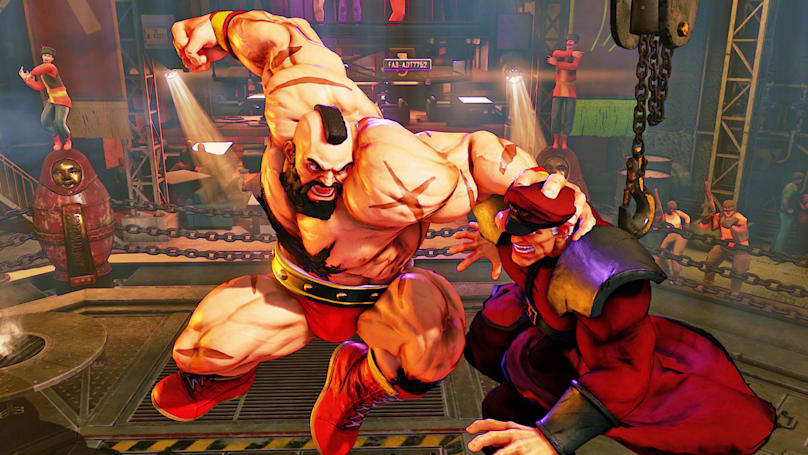 'Street Fighter V' offline updates will go beyond a story mode