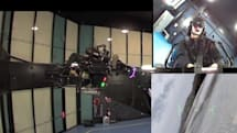 Universal Motion Simulator: real enough to evoke panic (video)
