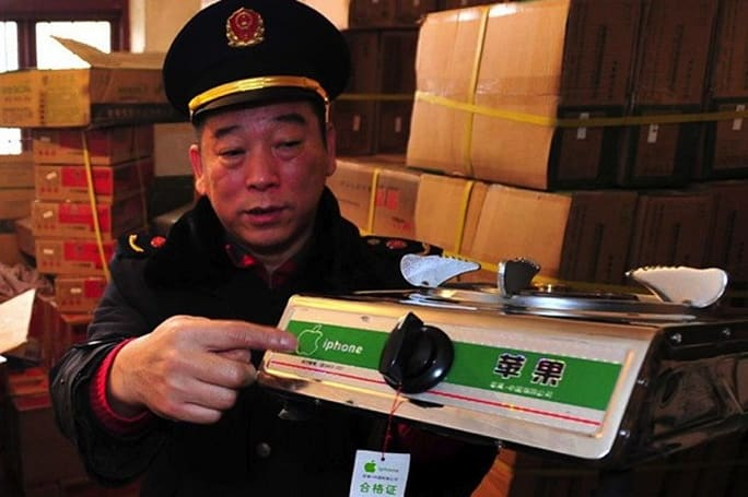 There's literally no app for this: KIRF iPhone-branded gas stoves seized by Chinese authorities