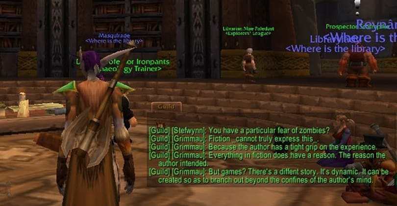 Real-life librarians hit the Ironforge stacks