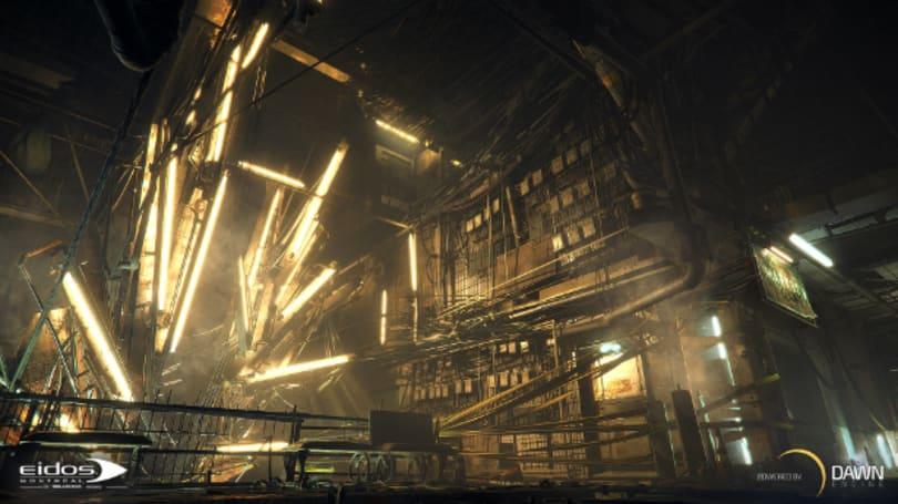 Deus Ex Universe lights up with next-gen 'Dawn' engine