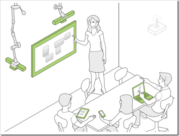 Microsoft outlines Code Space, looks to include Kinect in conference rooms, PTA meetings (video)