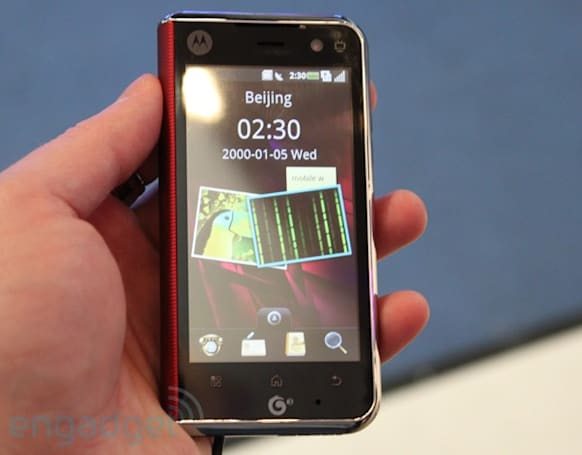 Motorola MT710 quick hands-on