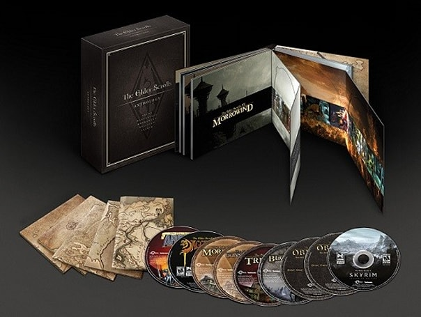 Elder Scrolls Anthology rolls up (nearly) everything from Arena to Skyrim