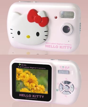 Hello Kitty's DC500 digicam