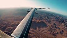 Facebook 的太陽能無人機完成首次試飛
