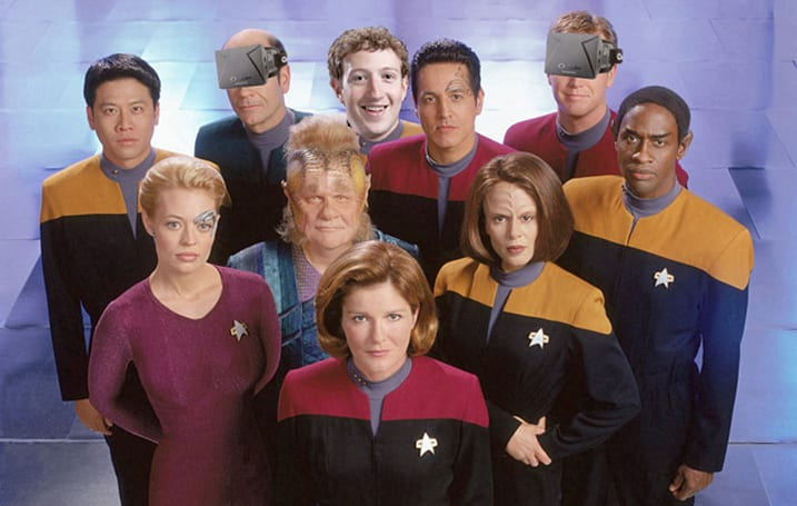 See the bridge of the USS Voyager with an Oculus Rift