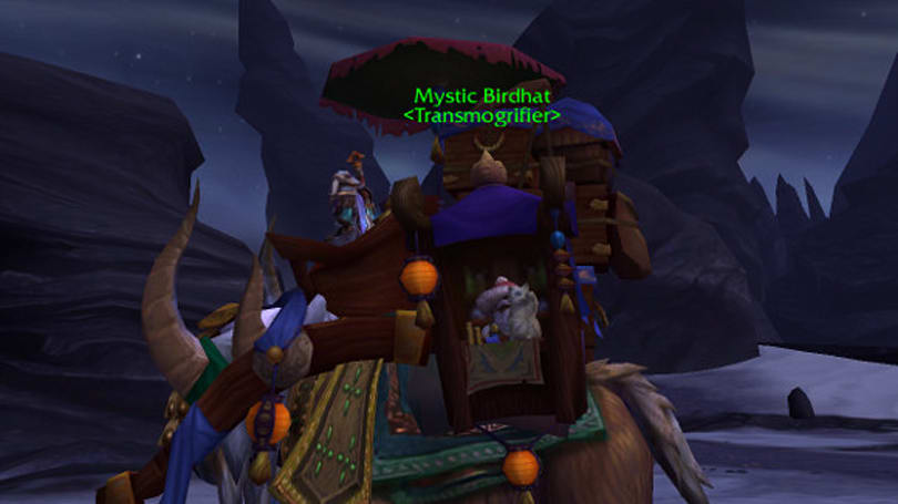 Warlords of Draenor Alpha: Mystic Birdhat's new job