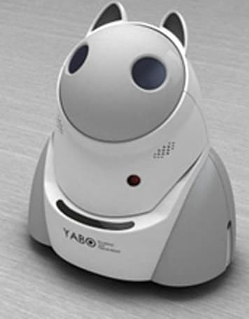 Conceptual YABO robot longs to be your friend