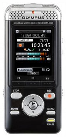 Olympus's WiFi-packing voice recorder plays nice with your smartphone