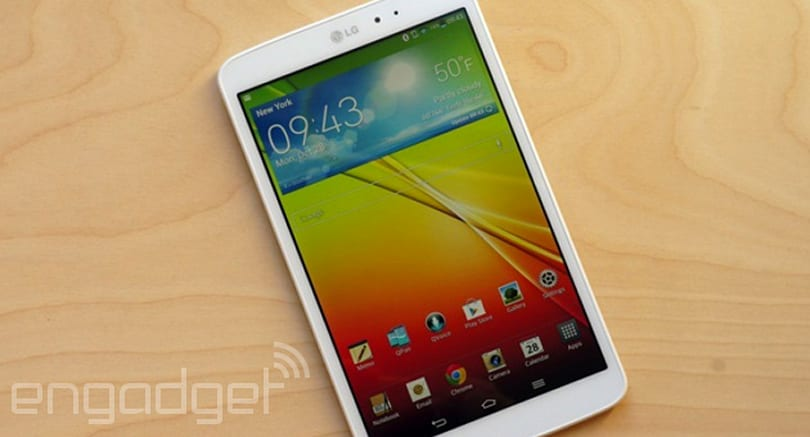 LG G Pad 8.3 LTE arrives on Verizon March 6th for $300