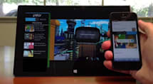 Microsoft and Polar demo Companion Web concept through a TV app (video)