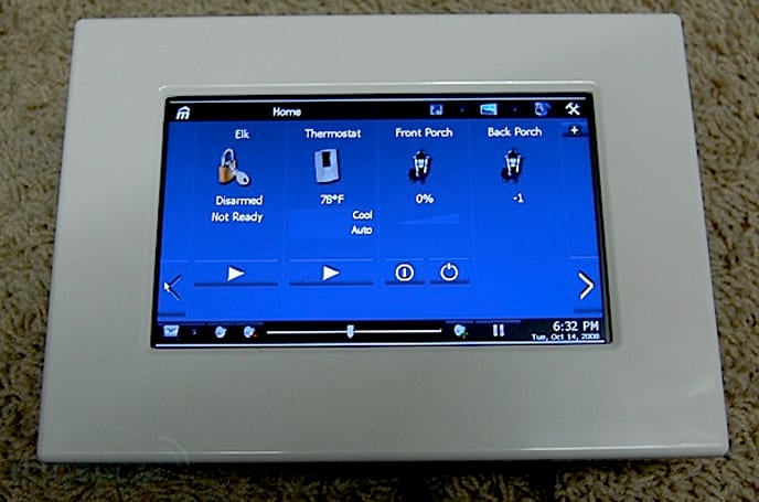 Engadget HD delves into Home Automation with mPanel review