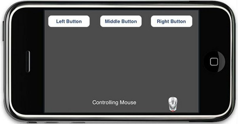 Use an iPhone / iPod touch as a keyboard and mouse for your Media Center