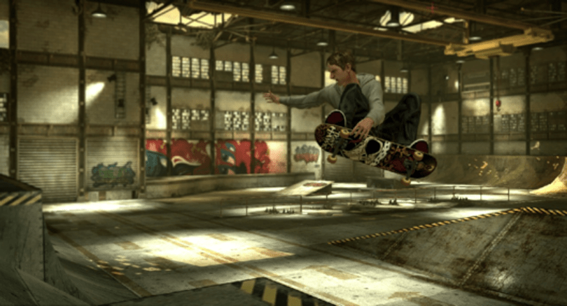 The same as it ever was: Tony Hawk Pro Skater HD screens and partial level list