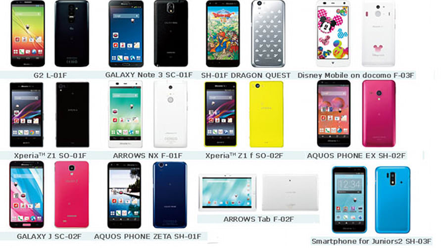 NTT Docomo's winter lineup arrives, includes Sony Xperia ...